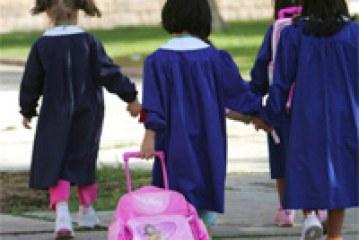 Utilizzo grembiule alunni di scuola dell'infanzia e primaria