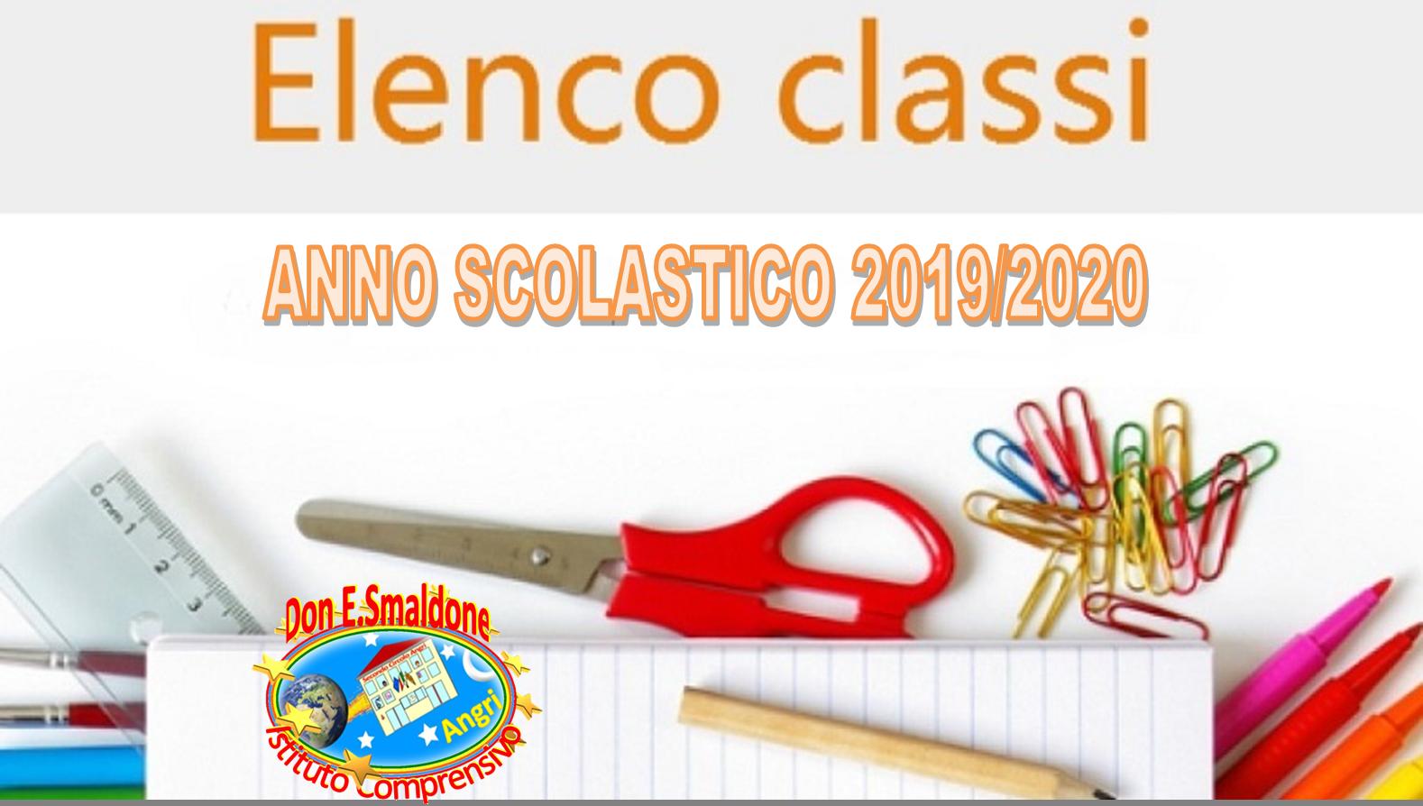 Decreto di pubblicazione classi/sezioni Scuola dell'Infanzia, Scuola Primaria, Scuola Secondaria 1° grado a.s. 2019/2020