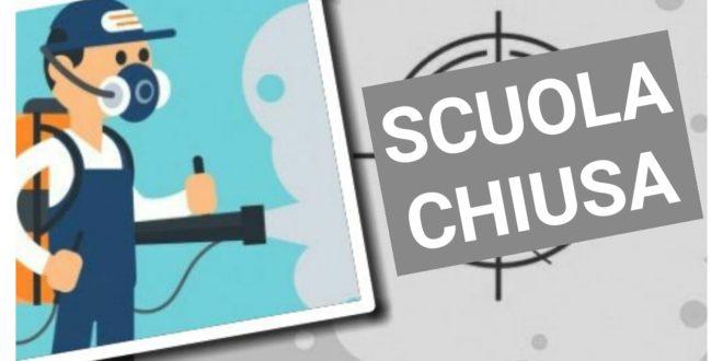 Chiusura Scuola giornate del 26 e 27 febbraio 2020