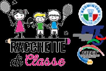 """Progetto """"Racchette di Classe 2019"""" – Fase provinciale"""