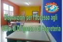 Disposizioni per l'accesso agli Uffici di Dirigenza e di Segreteria