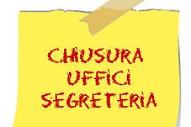 Emergenza Coronavirus – Proroga chiusura Ufficio di Segreteria fino al 03/04/2020