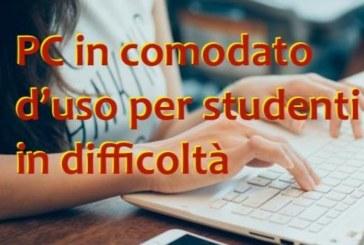 Concessione in comodato d'uso gratuito di dispositivi digitali per alunni della scuola per realizzare la didattica a distanza integrata – Emergenza epidemiologica Covid-19