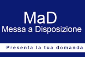 Regolamentazione domande di messa a disposizione (MAD) e modalità invio a.s. 2020/2021