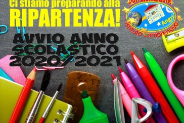Avviso inizio lezioni anno scolastico 2020/2021