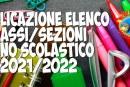 Avviso pubblicazione classi prime Scuola Primaria a.s. 2021/2022