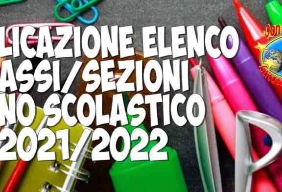 Avviso pubblicazione classi prime Scuola Secondaria di 1° grado a.s. 2021/2022