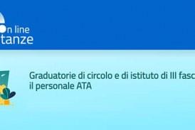 Graduatorie di Circolo e d'ISTITUTO III fascia ATA – Circolare Ministeriale
