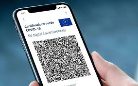 Obbligo certificazione verde Covid-19 ai sensi del D.L. 111 del 6 agosto 2021