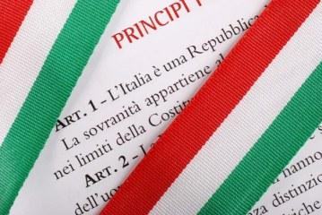 Consegna testo Costituzione Italiana 19 marzo.