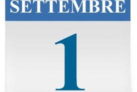 Presa di servizio sabato 1° settembre