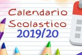 Calendario scolastico 2019/2020.