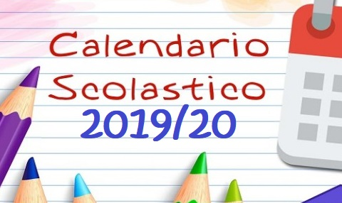 Anno Calendario 2020.Calendario Scolastico 2019 2020 Istituto Comprensivo Don