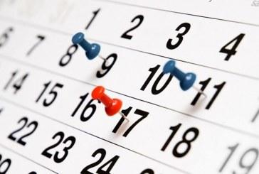 Calendario scolastico 2021/2022