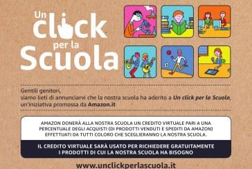 """Adesione all'iniziativa Amazon """"Un click per la scuola"""""""
