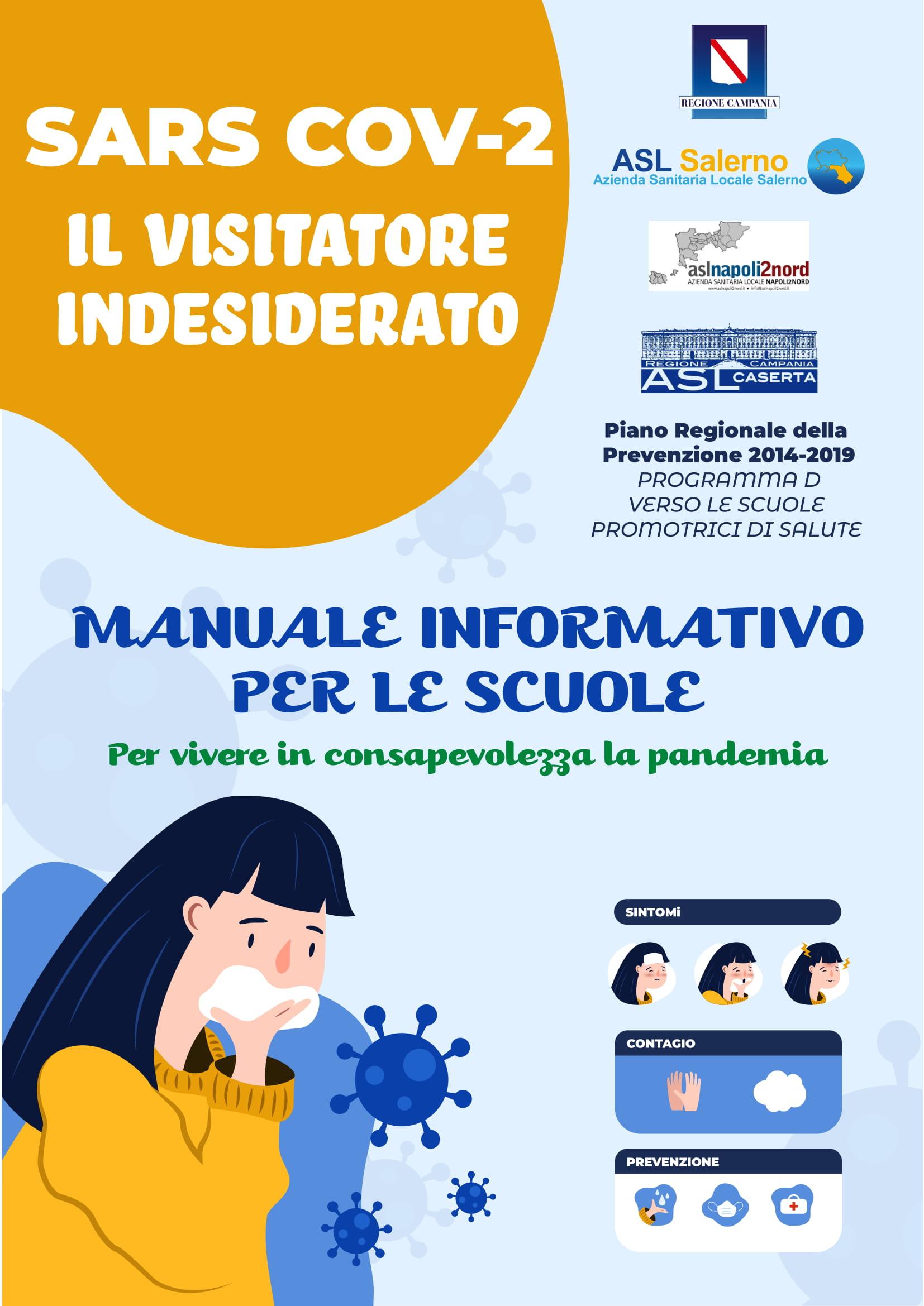 ASL Salerno – COVID-19 Manuale informativo per le scuole