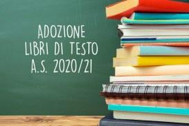 Pubblicazione elenchi libri di testo adottati per l'anno scolastico 2020/2021 scuola primaria e scuola secondaria di primo grado