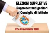 Elezioni suppletive per il Consiglio d'Istituto. Pubblicazione dei risultati.