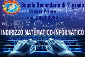 Sperimentazione Indirizzo Matematico-Informatico Classi Prime SSPG a.s. 2021/2022